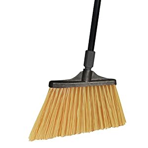 O-Cedar Commercial Maxi Plus Professional Angle Broom with Unflagged Bristles