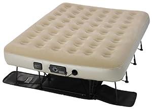 air mattress with frame