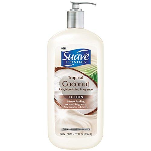 Suave Essentials Body Lotion, Tropical Coconut 32 oz