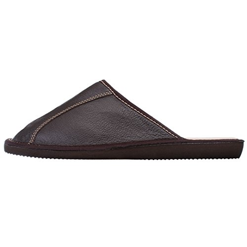 Bosaco Brown Mens Of World Slippers Leather rqZrAX