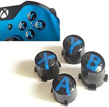 Para mando de Xbox One x s Elite a B x y botones con letras Mod Kit negro: Amazon.es: Electrónica