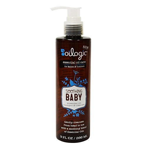 Baby Shampoo and Soothing Cleanser by Oilogic Safely Diluted for 3+ Months