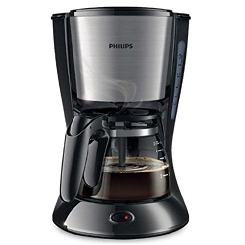 Twister Jug - Philips Daily Collection Coffee Maker HD7434/20 With glass jug Compact design (0.6L) Pistil Black 220V