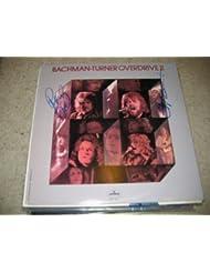 "* BACHMAN TURNER OVERDRIVE * signed ""II"" album cover / UACC RD # 212"