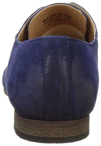 Kickers Galla, Zapatos de Cordones Derby para Mujer azul (Marine)