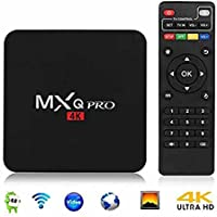 BOMIX MXPRO Android TV Box Smart MXQ Pro Mini PC Android 6.0 Am Logic S905X Quad Core Media Center UHD 4K 1G / 8G Wi-Fi H.264 DLNA Miracast HD Media