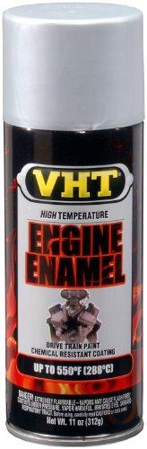 VHT SP995-6 PK (ESP995007-6 PK) Nu-Cast Aluminum High Temperature Engine Enamel - 11 oz. Aerosol, (Case of 6) by VHT (Image #1)