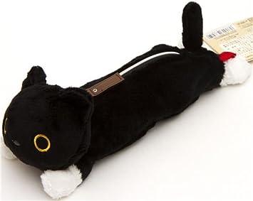 Estuche de peluche para lápices gato Kutusita Nyanko: Amazon.es: Juguetes y juegos