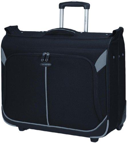 Samsonite Aspire GRT Wheeled Garment Bag,Black/Silver Grey,One Size