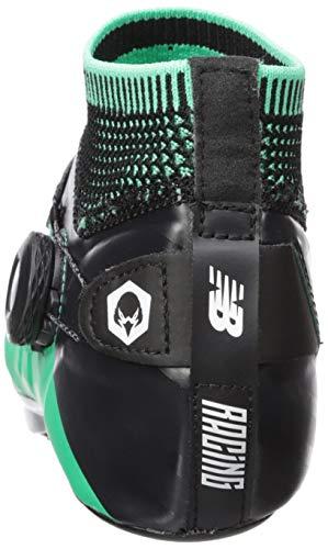New Balance Men's Sigma V2 Vazee Track Shoe neon Emerald/Black 7 D US by New Balance (Image #2)