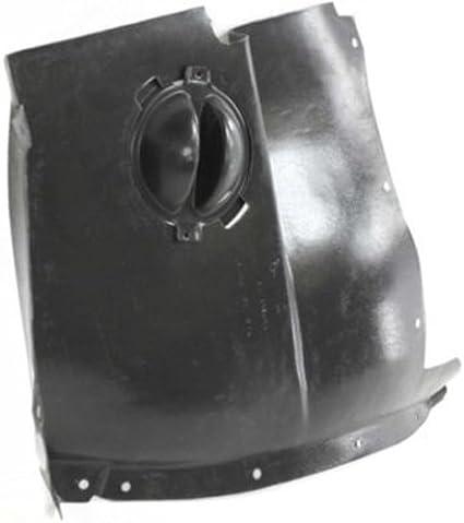 GM1248176 Fender Splash Shield for 05-13 Chevrolet Corvette Front Driver Side