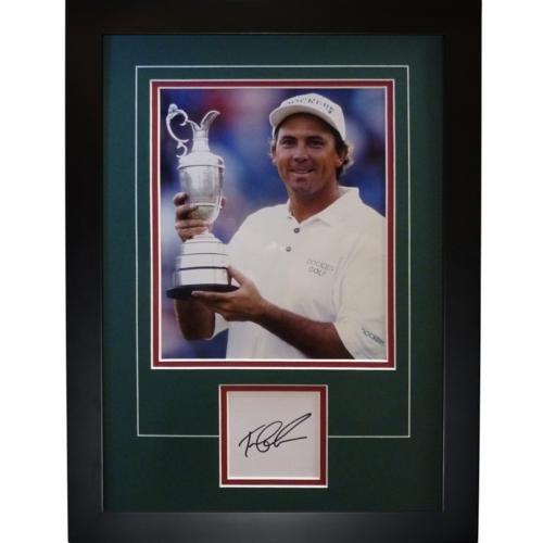 Tom Lehman Memorabilia - Tom Lehman Autographed 1996 British Open (Trophy)