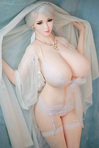 170 巨乳 シリコーン セックス人形 膣 口 肛門 3つの穴 sex doll ヘッド 可愛い顔 白い肌 リアルドール