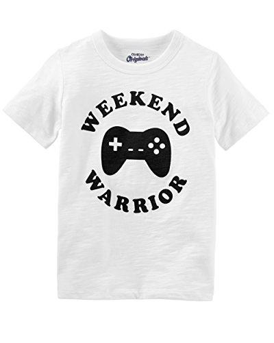 Osh Kosh Kids Graphic Tees, Weekend Warrior,