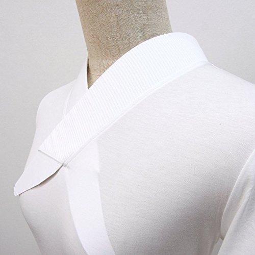 ふぁんじゅ 絽衿 半衿付きTシャツ 半衿付き 肌襦袢 半襦袢 半衿付きTシャツ型半襦袢 和装下着 B073RZMPDJ 3L