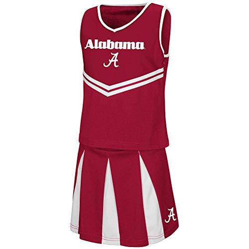 Colosseum Youth NCAA-Girls Cheer Set-Alabama Crimson Tide-Youth Medium ()