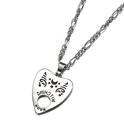 Werrox Antique Cool Style Gothic Ouija Board Pendant Necklace Jewelry Halloween Gift | Model NCKLCS - 21759 - Mezuzah Antique