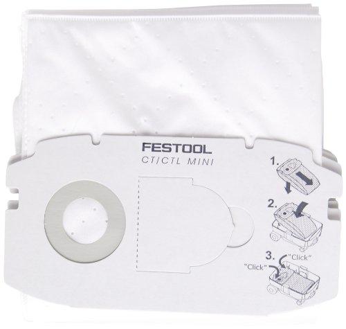 Festool 498410 Self Clean Filter Bag for CT MINI  5 - Filter Bag Festool