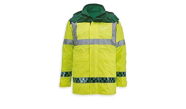 Alexandra al-nu99hy-m ambulancia chaqueta 3 en 1 para hombre, Plain, tamaño mediano, Hi-Vis amarillo: Amazon.es: Industria, empresas y ciencia