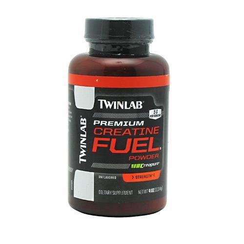 TWINLAB Premium CREATINE FUEL Powder, 4 OZ / 5 gms per serving (Twinlabs Amino Fuel Liquid)