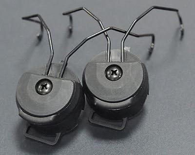FMA PT cuffie e casco RAIL Adattatore Set-Nero