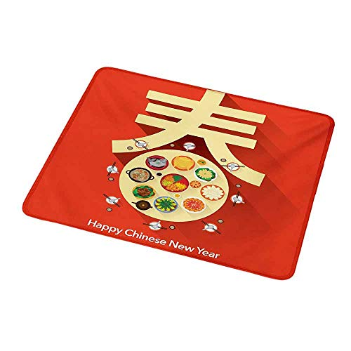 Gaming Mouse Pad Customized Chinese New Year,Traditional
