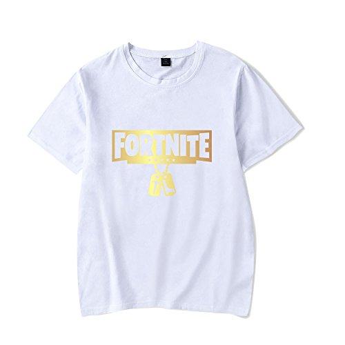 Amante Manica White2 Estive Popolare Camicie T AILIENT Bluse Superiori Shirts Stampate Corta Girocollo Classico Maglietta Unisex Fortnite wtwq1aY
