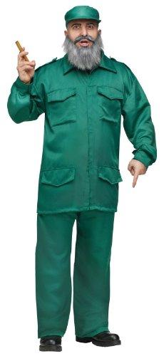 Fidel Adult Costume (One (Fidel Castro Costume)