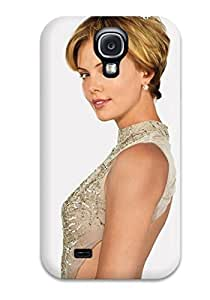 For AnnaSanders Galaxy Protective Case, High Quality For Galaxy S4 Charlize Theron 185 Skin Case Cover