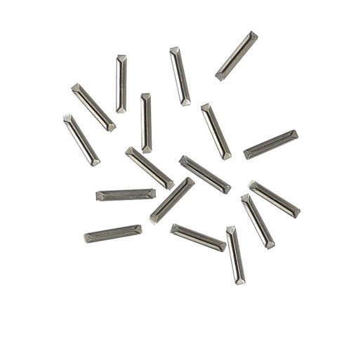 N Code 55 Nickel Silver Metal Rail Joiner (24pcs) Atlas Trains by Atlas