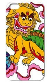 Fashion The Lion Pattern Protective Hard Case Cover For iPhone ipod touch4 #037