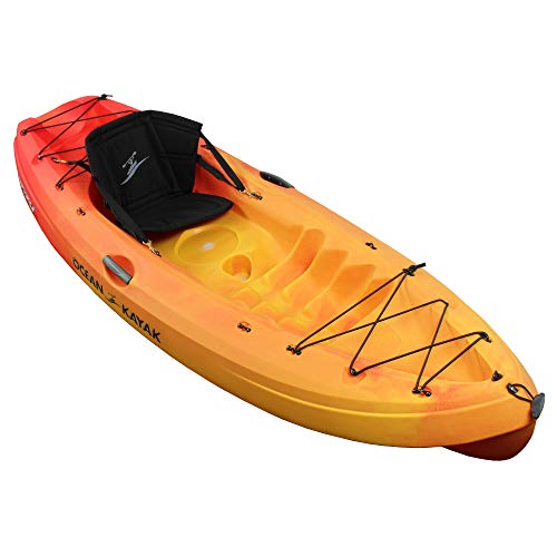 Ocean Kayak Frenzy One-Person Sit-On-Top Recreational Kayak, Envy, 9 Feet