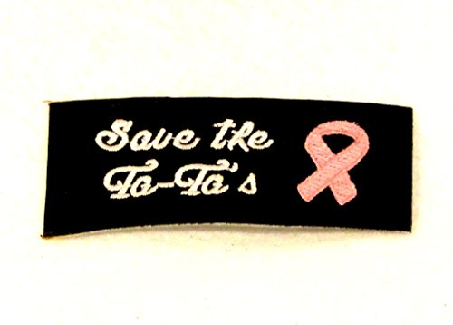 save-the-ta-tas-pink-and-white-on-black-small-badge-patch-for-biker-vest-sb822