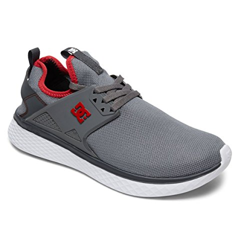DC Shoes Meridian - Baskets pour Homme ADYS700125 Gris - Grey/Red/White uRFVLNx75G
