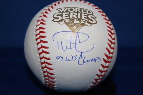Autographed Phil Coke