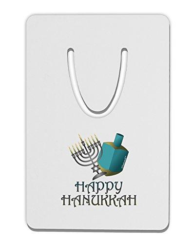 TooLoud Blue & Silver Happy Hanukkah Aluminum Paper Clip Bookmark