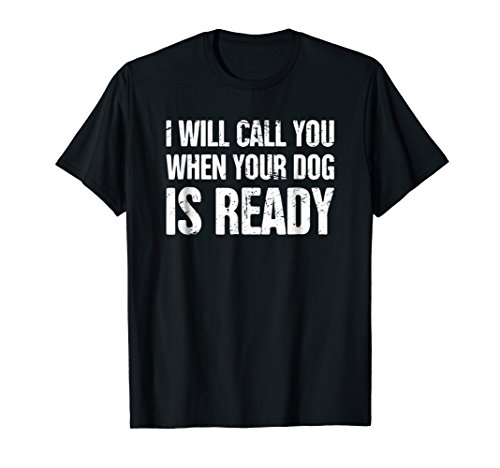Distressed Funny Dog Groomer T-Shirt