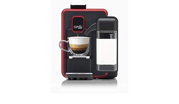 Caffitaly Cafetera System Blanca S22 Color Rojo y Negro: Amazon.es ...