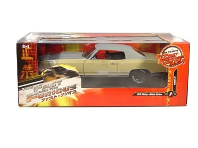1970 Chevy Monte Carlo from The Fast and the Furious Tokyo Drift 1/18