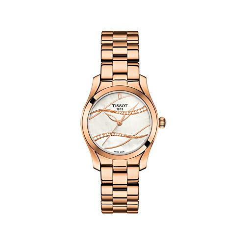 Tissot T-Wave – T1122103311100 Silver/Rose Gold One Size
