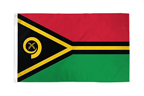 Home Comforts 3x5 Vanuatu Flag South Pacific Island Banner P