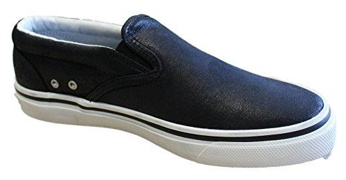 Sperry Halyard CVO Leather Black Bootsshuhe Segelschuhe Sneaker Herren