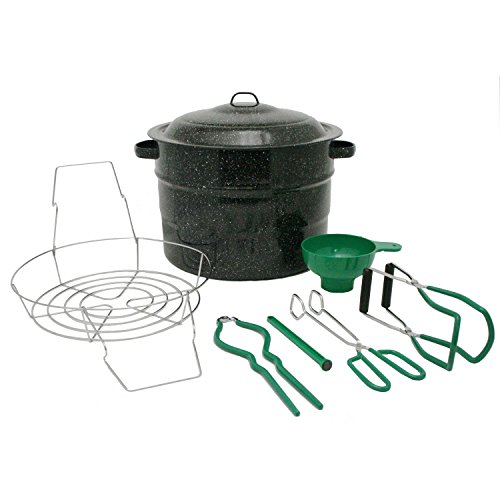 Granite Ware Enamel-on-Steel Canning Kit, 9-Piece