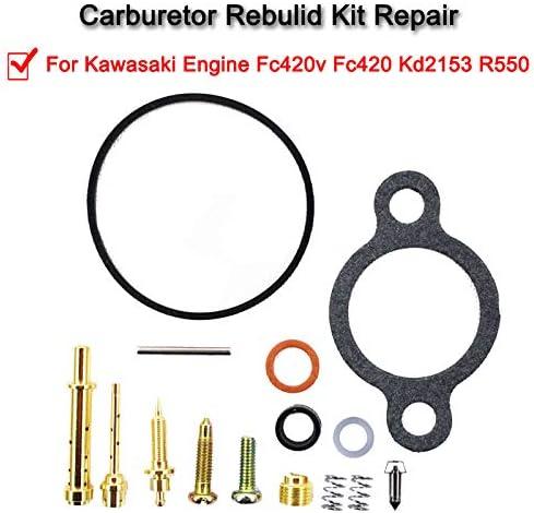 CARB REBUILD KIT For Kawasaki Engine FC420V FC420 KD2153 r550 CA CARBURETOR
