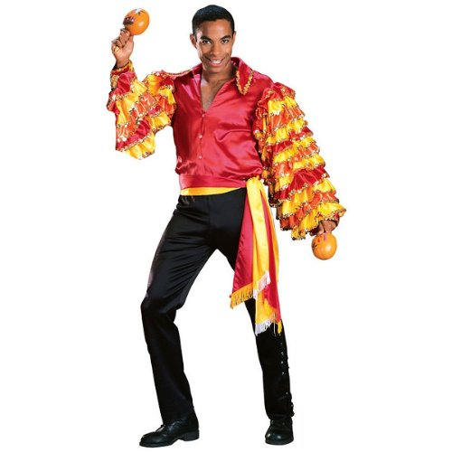 Regency Collection Rumba Man Adult Costume - Large by Rubie's