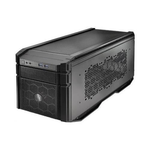 Cooler Master HAF-915F-KKN1 Black Fixed Interior HAF STACKER 915F Desktop Mini-ITX Case