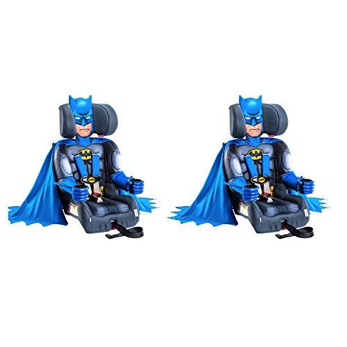 Kids Embrace DC Comics Batman Adjustable Booster Toddler Car Seat (2 Pack)
