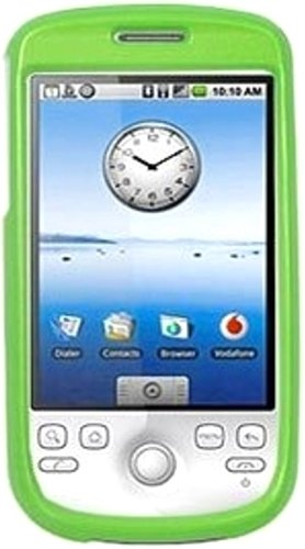 (Amzer Polished Snap-On Crystal Hard Case for T-Mobile myTouch 3G/HTC Magic - Neon)