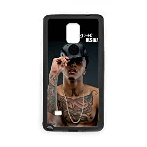 Onshop Custom August Alsina Tattoo Phone Case Laser Technology for SamSung Galaxy Note4