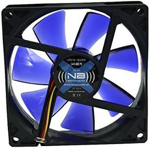 Noiseblocker BlackSilentFan XE1 Carcasa del Ordenador Ventilador ...